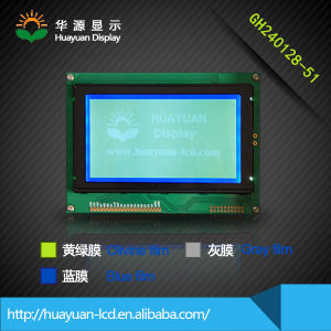 128X240 LCD 240X128 Graphic LCD Module with T6963c
