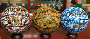 Basketball Customized Wear-Resisting Quality Cheap 8pieces 4#5#6#7# PU Sg5221/2/3 Camouflage Pattern Basketball