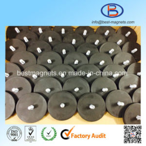 10 Years ISO Factory of TPR/TPE/TPV Rubber Covering/Coated Permanent Neodymium Magnets