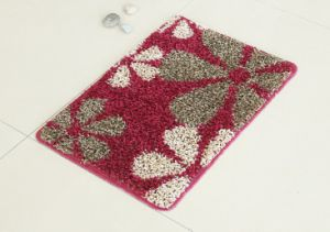 Comfortable PP Rugs, with Elbow Yarns, Orchid Pattern