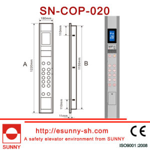 Car Operation Panel for Elevator with Display (CE, ISO9001) pictures & photos