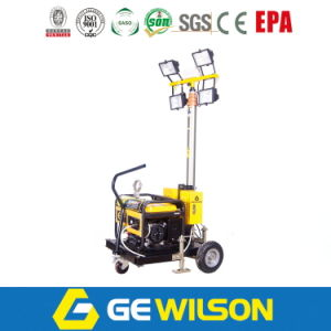 Hot Sale Mobile Light Tower with Diesel or Gasolne Generator pictures & photos