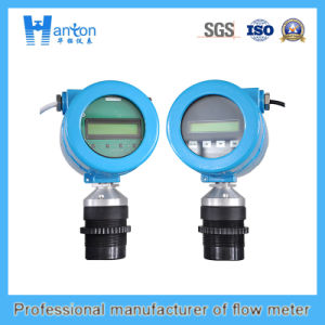 Plastic Blue All-in-One Type Ultrasonic Level Meter pictures & photos