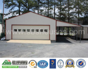 Steel Structure Prefabricated Car Warehouse Garage with Low Price
