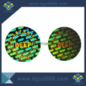 Customized Company Logo Laser Hologram Sticker