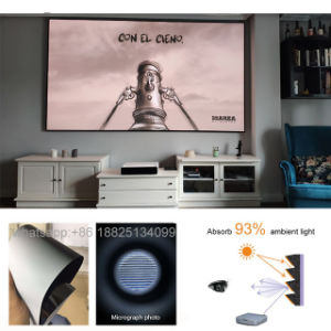 11.11 Global Source Festival Xyscreen Pet Crystal Ust Alr Projector Screen 100 Inch