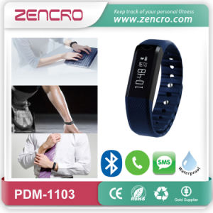 Hot Selling Bluetooth 4.0 Intelligent Bracelet with Incoming Call Alart