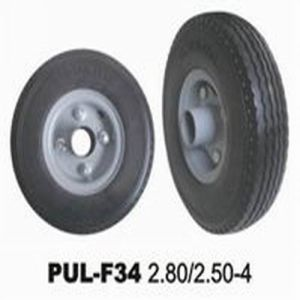 Black PU Foamed Hand Truck Tire pictures & photos