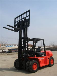 7ton Diesel Forklift Truck with Powerful Engine (CPCD70F)