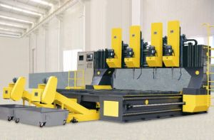 Gantry Movable CNC Plate Drilling Machine Model PLD4040/4 pictures & photos