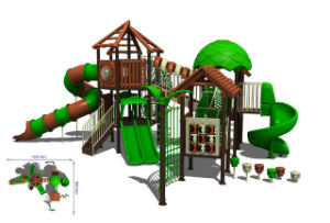 Outdoor Playground -Tree House Series (9-1002)