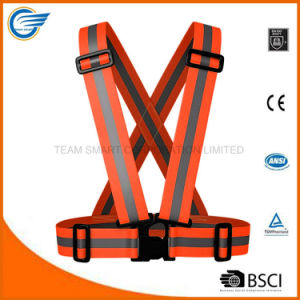 Adjustable High Visibility Reflective Belt for Runing Cycling Walking pictures & photos