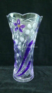 Machine-Made Colorful Glass Vase (V-HG09) pictures & photos