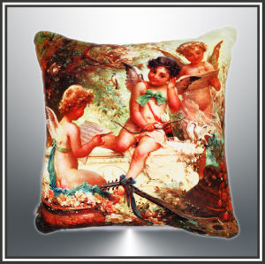 Cotton Cushion, Canvas Cushion Digital Printed Cushion pictures & photos