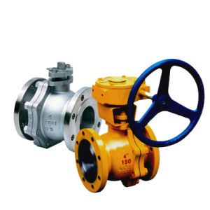 API 2PC Flanged Floating Ball Valve