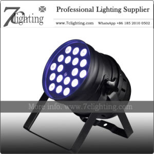 18x10w Rgbw Short Led Par 64 Dj Lighting Equipment