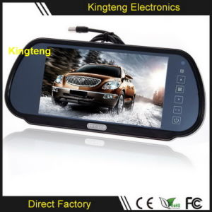 7inch Mini in Vehicle Backup Reverse TFT LCD Car Monitor with Remote