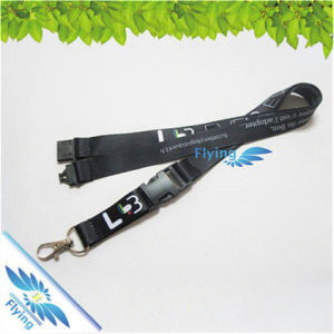 Low Price Card Lanyards Gifts Promotional Woven Polyester Straps for Festival