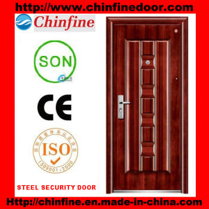 Steel Security Door (CF-074) pictures & photos