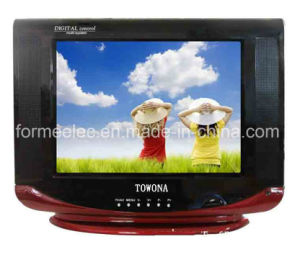 "15"" CRT TV 15A Normal Flat TV CRT Television pictures & photos"