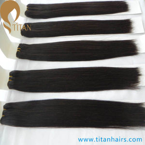 Natural Black Indian Remy Human Hair Weft