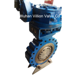 Dn600 Dn3600 Single Offset Butterfly Valve for Flow Control