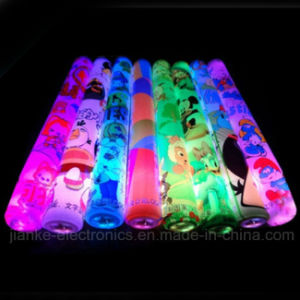 High Quality Flashing LED Foam Baton with Logo Print (4016)