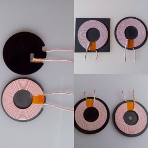 WPC Inductor A11 Coil with Different Shape Ferrite Sheet