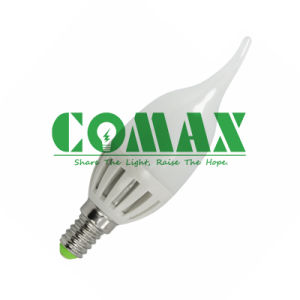 C37 3W 5W LED Tailed Candle Bulb Light pictures & photos
