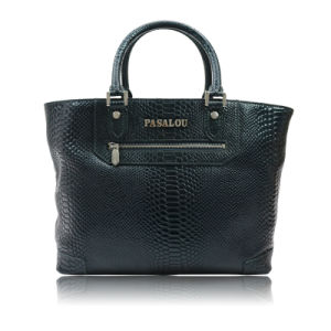 High Quality Crocodile Grain Leather Handbag for Ladies Collections pictures & photos