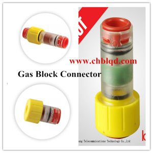 Gas/Water Block Microduct Connector, Gas Watertight Connector, Micro Duct Connector pictures & photos