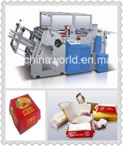 Paper Box Folding Machine Price pictures & photos