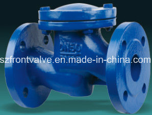 Cast Iron/Ductile Iron Flanged Lift Check Valve pictures & photos