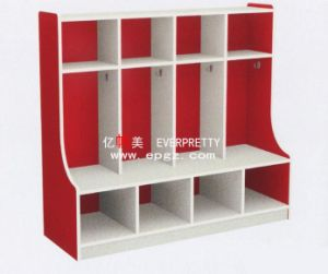 2015 High Quality Children Daycare Furniture Kid′s Cabinet Wardrobe pictures & photos