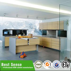Guangzhou Best Sense Modern Hot Stamping Design Laminate Kitchen Cabinet