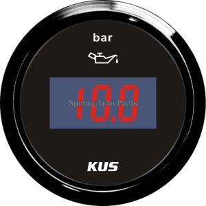 Best Sale 52mm Digital Oil Pressure Gauge Meter 0-10bar pictures & photos