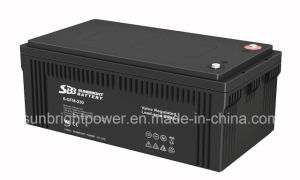 Maintenance Free 12V230ah Deep Cycle Solar Power Battery pictures & photos