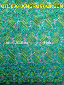 High Quality African Swiss Cotton Voile Lace with Many of Holes for Lady for Party. pictures & photos