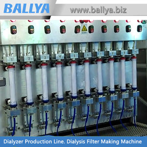 Automated Medical Production Line for Polyethersulfone Membrane Dialyzer Dialysis Consumable Supplies