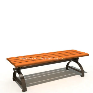 Park Bench, Picnic Table, Cast Iron Feet Wooden Bench, Park Furniture FT-Pb035