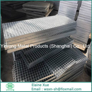 Yinrong Welding Fixing Steel Stair Tread With T1 Type