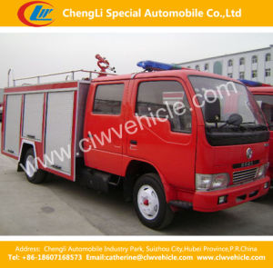 4*2 Dongfeng 5ton Water Foam Fire Sprinkler / Fire Fighting Truck pictures & photos