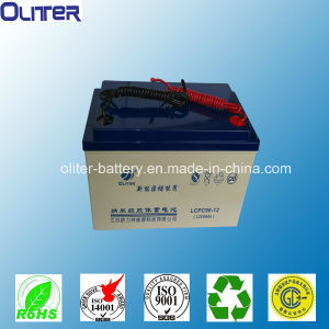 12V90ah Deep Cycle VRLA Solar Rechargeable Battery