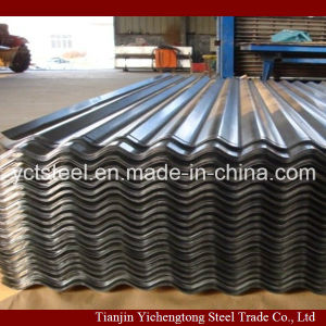 Galvanized Corrugated Roofing Plate Dx51d+Zn pictures & photos