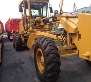 Used Caterpillar Motor Grader/Secondhand American Grader with Rippers (140K)