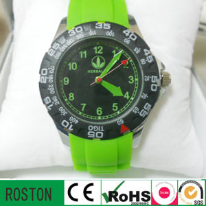 Fashion Sport Watches with Silicone Band