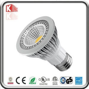 Energystar Dimmable 120VAC White 7W COB LED PAR20 Spotlight