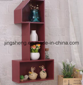 Wood Racks Home Storage Shelf Wooden Crafts Wine Rack pictures & photos