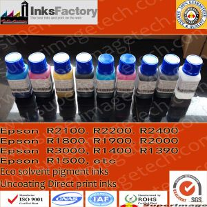 Uncoating Eco Solvent Ink for Epson R2400. R2000. R3000. R1400. R1900 pictures & photos