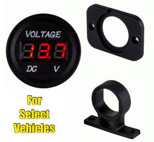 Car DC Voltage Meter for Car and Boat 36mm pictures & photos